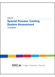 CQI-27 Special Process: Casting System Assessment 1st Edition: 2015