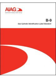 B-9 Gas Cylinder Identification Label Standard