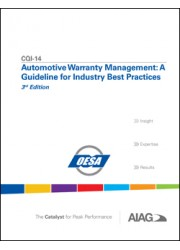 CQI-14 Automotive Warranty Management:: A Guideline for Industry Best Practices 3rd Edition