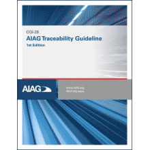 CQI-28 AIAG Traceability Guideline (1st Edition) 2018