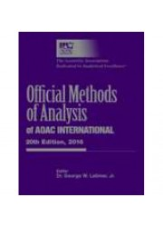 Official Methods of Analysis of AOAC INTERNATIONAL, 20th Edition (2016)