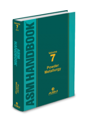 ASM Handbook Volume 07 : Powder Metallurgy