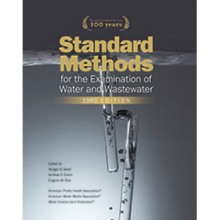 Standard Methods for the Examination of Water and Waste water, 23rd Edition: 2017