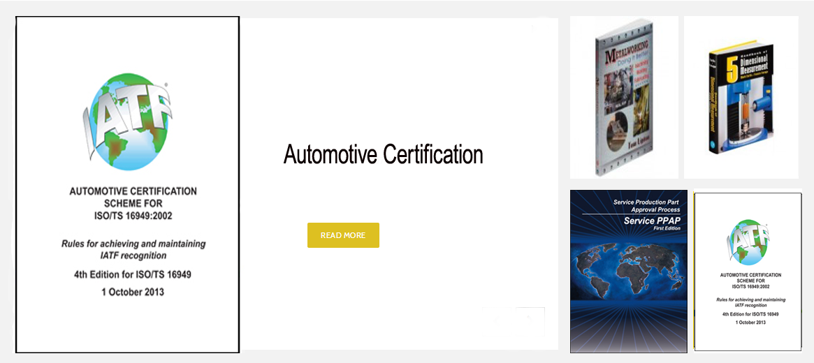 Automotive Certification Scheme for ISO/TS 16949