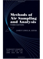 Methods of Air Sampling and Analysis, 3rd Edition