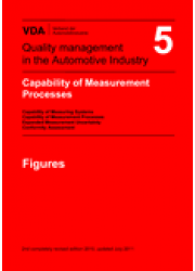 VDA  5 Capability of Measurement Processes  Capability of Measuring Systems 2nd completely revised edition 2010, updated July 2011